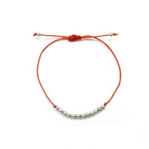 Dozen Silver Balls Bracelet