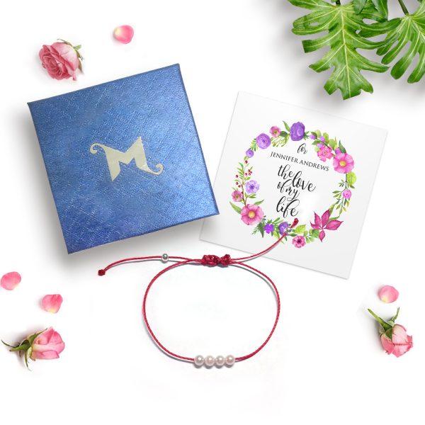 Akoya Pearl String Bracelet