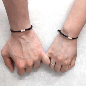 Bar Couples Bracelet