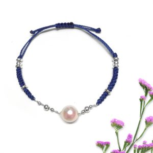 Baroque Pearl Chain String Bracelet