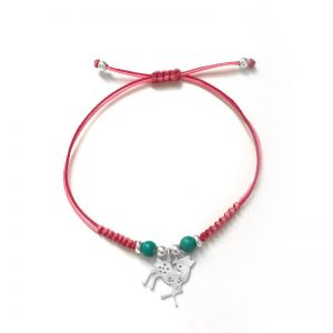 Deer Love Silver Bracelet