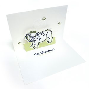 Be Fabulous Pop Up Card