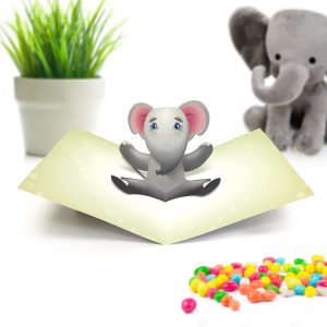 Elephant Pop Up Card