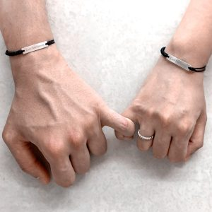 Engrave Couples Bracelet