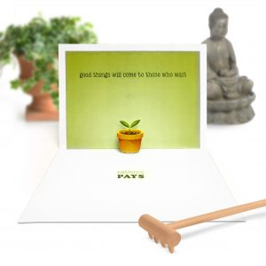 Relax Pop Up Card