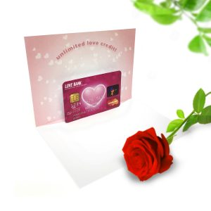 Credit Card Pop Up Card