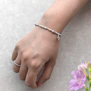 Love Morse Code Bracelet