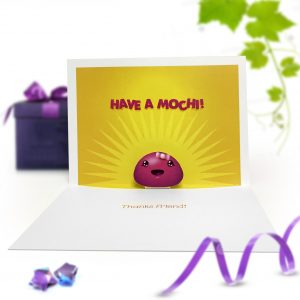 Mochi Pop Up Card