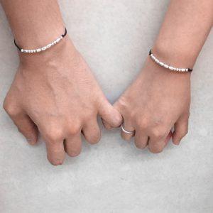 Morse Code Couples Bracelet