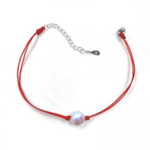 Pearl String Love Bracelet