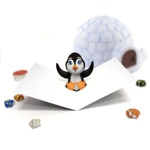 Penguin Pop Up Card