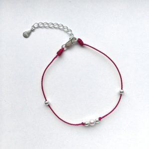Baby Akoya Pearl String Bracelet