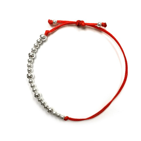 20 Silver Balls Bracelet