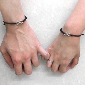 Elegant Infinity Couples Bracelet