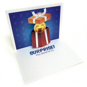 Surprise Pop Up Card