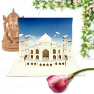 Taj Mahal Pop Up Card
