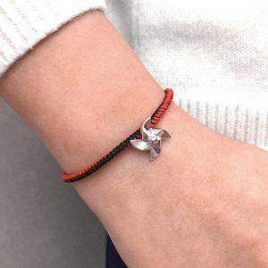 Pinwheel String Bracelet